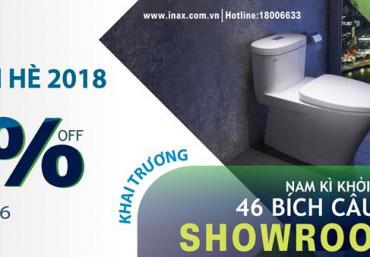 Chương trình Khuyến mại INAX mùa hè 2018