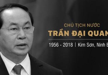 Infographic tiểu sử Chủ tịch nước Trần Đại Quang